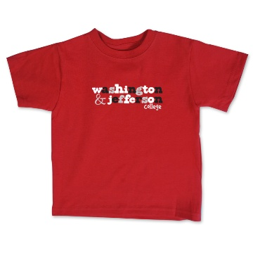 Cover Image For COLLEGE KIDS YOUTH RED T-SHIRT