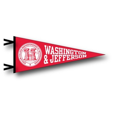 Image For COLLEGIATE PACIFIC 12X30 RED PENNANT