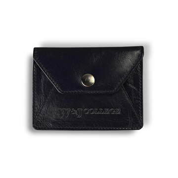 Image For CAROLINA SEWN BLACK ENVELOPE COIN PURSE