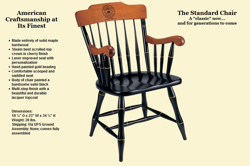 Cover Image For COLLEGE CHAIRS