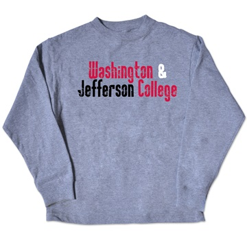 Image For COLLEGE KIDS YOUTH LS GREY TEE