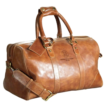 Cover Image For CAROLINA SEWN LEATHER DUFFEL BAG