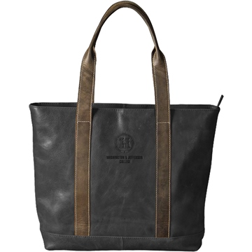 Image For CAROLINA SEWN BLACK TWO TONE TOTE