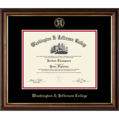 Cover Image For (May 2018-Present) Regency Gold Embossed Diploma Frame