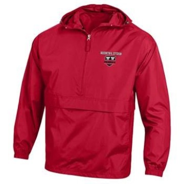Image For CHAMPION PACK N GO RED JACKET