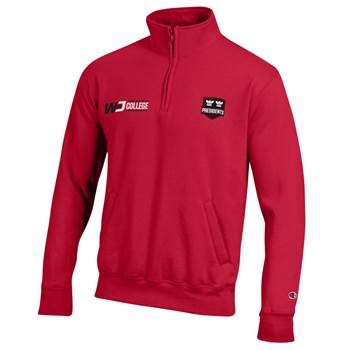Image For CHAMPION RED ECO 1/4 ZIP