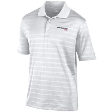Image For CHAMPION 3012 WHITE TEXTURED POLO