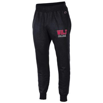 Image For CHAMPION BLACK REVERSE WEAVE JOGGER
