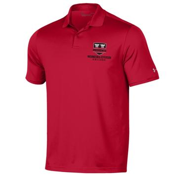 Image For UA 0596 RED PERFORMANCE POLO