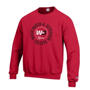 Cover Image For CHAMPION MOM F19 RED CREWNECK